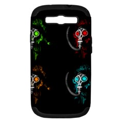 Gas Mask Samsung Galaxy S Iii Hardshell Case (pc+silicone) by Valentinaart