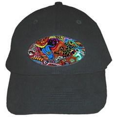 Art Color Dark Detail Monsters Psychedelic Black Cap by BangZart