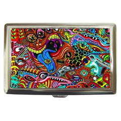 Art Color Dark Detail Monsters Psychedelic Cigarette Money Cases by BangZart