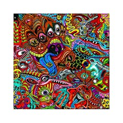 Art Color Dark Detail Monsters Psychedelic Acrylic Tangram Puzzle (6  X 6 ) by BangZart