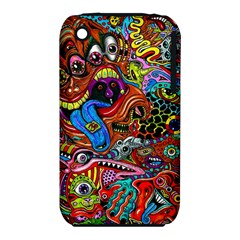 Art Color Dark Detail Monsters Psychedelic Iphone 3s/3gs by BangZart