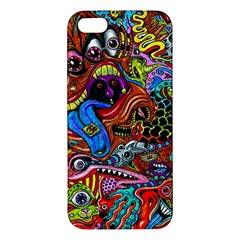 Art Color Dark Detail Monsters Psychedelic Iphone 5s/ Se Premium Hardshell Case by BangZart
