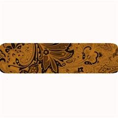 Art Traditional Batik Flower Pattern Large Bar Mats by BangZart