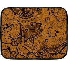 Art Traditional Batik Flower Pattern Double Sided Fleece Blanket (mini)  by BangZart