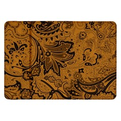 Art Traditional Batik Flower Pattern Samsung Galaxy Tab 8 9  P7300 Flip Case by BangZart
