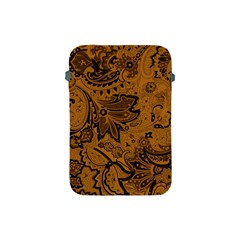 Art Traditional Batik Flower Pattern Apple Ipad Mini Protective Soft Cases by BangZart