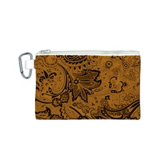 Art Traditional Batik Flower Pattern Canvas Cosmetic Bag (s) by BangZart