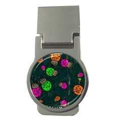 Abstract Bug Insect Pattern Money Clips (round)  by BangZart