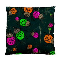 Abstract Bug Insect Pattern Standard Cushion Case (two Sides) by BangZart