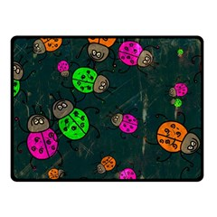 Abstract Bug Insect Pattern Fleece Blanket (small) by BangZart