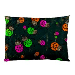 Abstract Bug Insect Pattern Pillow Case (two Sides) by BangZart