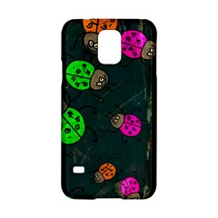 Abstract Bug Insect Pattern Samsung Galaxy S5 Hardshell Case  by BangZart