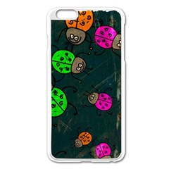 Abstract Bug Insect Pattern Apple Iphone 6 Plus/6s Plus Enamel White Case by BangZart