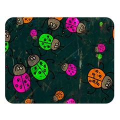 Abstract Bug Insect Pattern Double Sided Flano Blanket (large)  by BangZart