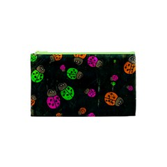 Abstract Bug Insect Pattern Cosmetic Bag (xs) by BangZart