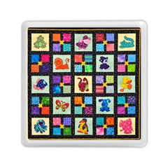 Animal Party Pattern Memory Card Reader (square)  by BangZart