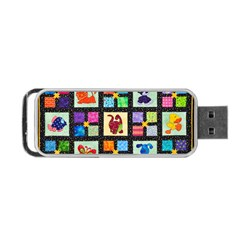 Animal Party Pattern Portable Usb Flash (one Side) by BangZart