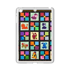 Animal Party Pattern Ipad Mini 2 Enamel Coated Cases by BangZart