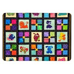 Animal Party Pattern Samsung Galaxy Tab 8 9  P7300 Flip Case by BangZart