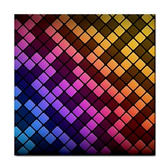 Abstract Small Block Pattern Tile Coasters by BangZart