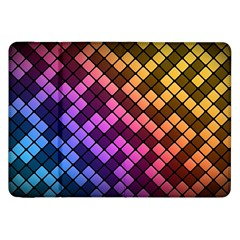Abstract Small Block Pattern Samsung Galaxy Tab 8 9  P7300 Flip Case by BangZart