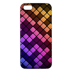 Abstract Small Block Pattern Iphone 5s/ Se Premium Hardshell Case by BangZart