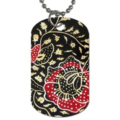 Art Batik Pattern Dog Tag (two Sides) by BangZart