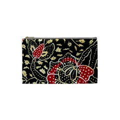 Art Batik Pattern Cosmetic Bag (small)  by BangZart