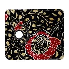 Art Batik Pattern Galaxy S3 (flip/folio) by BangZart