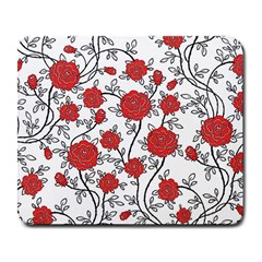 Texture Roses Flowers Large Mousepads by BangZart