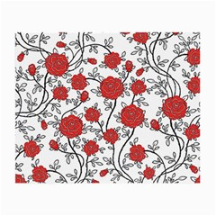 Texture Roses Flowers Small Glasses Cloth by BangZart