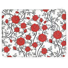Texture Roses Flowers Samsung Galaxy Tab 7  P1000 Flip Case by BangZart