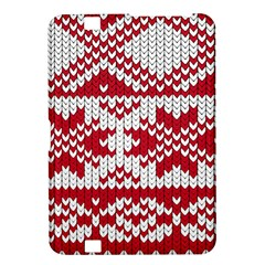 Crimson Knitting Pattern Background Vector Kindle Fire Hd 8 9  by BangZart