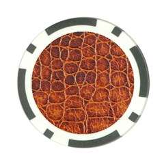 Crocodile Skin Texture Poker Chip Card Guard (10 Pack) by BangZart