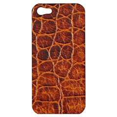 Crocodile Skin Texture Apple Iphone 5 Hardshell Case by BangZart