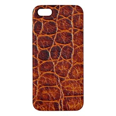 Crocodile Skin Texture Iphone 5s/ Se Premium Hardshell Case by BangZart