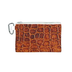 Crocodile Skin Texture Canvas Cosmetic Bag (s) by BangZart