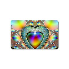 Rainbow Fractal Magnet (name Card) by BangZart
