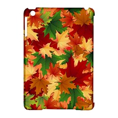 Autumn Leaves Apple Ipad Mini Hardshell Case (compatible With Smart Cover) by BangZart