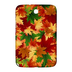 Autumn Leaves Samsung Galaxy Note 8 0 N5100 Hardshell Case  by BangZart