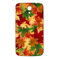 Autumn Leaves Samsung Galaxy Mega I9200 Hardshell Back Case by BangZart