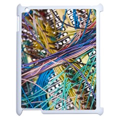Circuit Computer Apple Ipad 2 Case (white) by BangZart