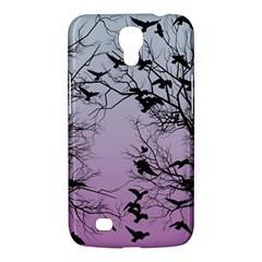 Crow Flock  Samsung Galaxy Mega 6 3  I9200 Hardshell Case by Valentinaart