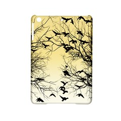 Crow Flock  Ipad Mini 2 Hardshell Cases by Valentinaart