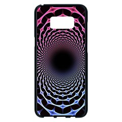 Spider Web Samsung Galaxy S8 Plus Black Seamless Case by BangZart