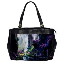 Fantastic World Fantasy Painting Office Handbags by BangZart