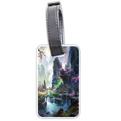 Fantastic World Fantasy Painting Luggage Tags (one Side)  by BangZart