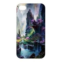 Fantastic World Fantasy Painting Apple Iphone 4/4s Premium Hardshell Case by BangZart