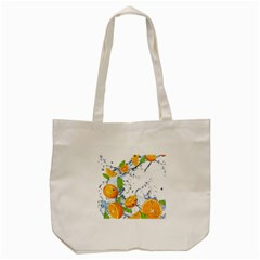 Fruits Water Vegetables Food Tote Bag (cream) by BangZart