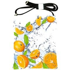 Fruits Water Vegetables Food Shoulder Sling Bags by BangZart